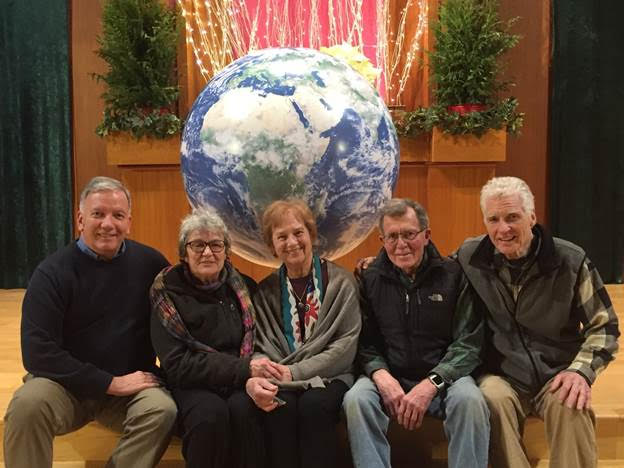 Fr. Stephen Jasoma, Suzanne, Pat Ferrone, MA, Regional Pax Christi Chair, Joe Ferrone and Brayton