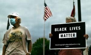 Black Lives Matter Agape Community Solidarity Protest